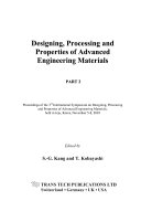 Designing  Processing and Properties of Advanced Engineering Materials