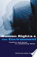Human Rights and the Environment