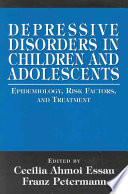Depressive Disorders in Children and Adolescents