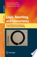 Logic  Rewriting  and Concurrency