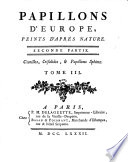 illustration Papillons d'Europe