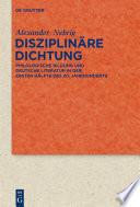 Disziplin  re Dichtung