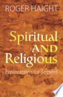 Spiritual And Religious  book