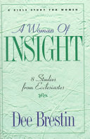 A Woman of Insight That Apply The Scriptures To A