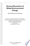 Human Dimensions of Global Environmental Change