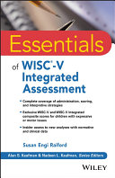 Essentials of WISC V Integrated Assessment