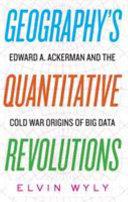 Geography S Quantitative Revolutions