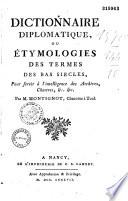 Dictionnaire de diplomatique,