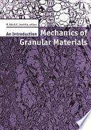 Mechanics of Granular Materials: An Introduction