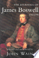 The Journals of James Boswell, 1762-1795