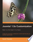 Joomla 1 5x Customization
