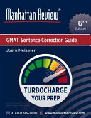 Manhattan Review GMAT Sentence Correction Guide  6th Edition