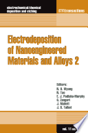 Electrodeposition of Nanoengineered Materials and Devices 2