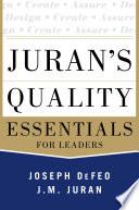 Juran s Quality Essentials