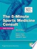 The 5 minute Sports Medicine Consult