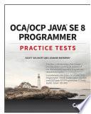 OCA   OCP Practice Tests