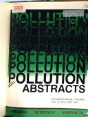Ebook Pollution Abstracts Epub N.A Apps Read Mobile