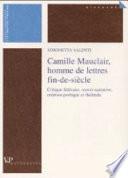 Camille Mauclair, homme de lettres fin de siècle