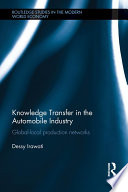 knowledge transfer in the automobile industry