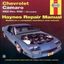 Chevrolet Camaro 1982 1992
