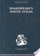 Shakespeare s Poetic Styles