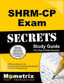 Shrm Cp Exam Secrets Study Guide