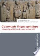 Communis lingua gentibus