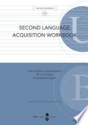 Second language acquisition workbooK  eBook