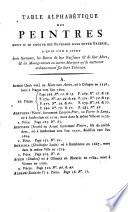 Catalogue des tableaux de la Galerie imp  eriale et royale de Vienne