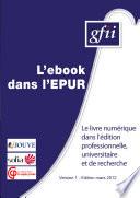 L ebook dans l EUR