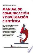 Manual De Comunicaci N Y Divulgaci N Cient Fica