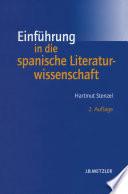 Einführung in die spanische Literaturwissenschaft