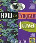 How to Program Java