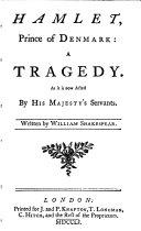 Hamlet, 1751
