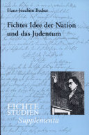 Fichtes Idee der Nation und das Judentum
