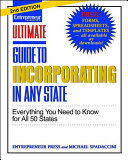 Ultimate Guide To In Incorporating Any State Second Edition