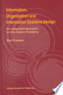 Information  Organization and Information Systems Design
