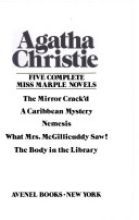 Five complete Miss Marple novels