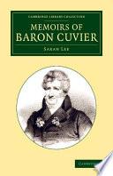 Memoirs Of Baron Cuvier