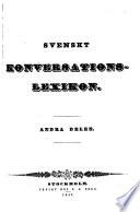 Svenskt Konversations Lexicon