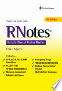 RNotes Nurse s Clinical Pocket Guide