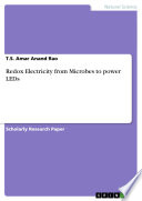 Redox Electricity From Microbes To Power LEDs : biology - micro- and molecular...