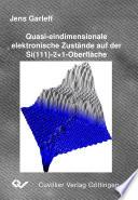 Quasi-eindimensionale elektronische Zustände auf der Si(111)-2x1-Oberfläche