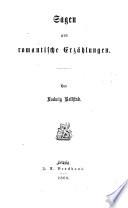 Sagen und Erzählungen: Waldhulde. Elsbeth. Jaromir. Berghold. Das Hochzeitfest. Harzbilder und Harzsagen