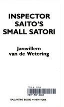 Inspector Saito's Small Satori Town Brings The Logic Of Zen To
