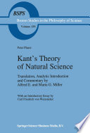 Kant   s Theory of Natural Science