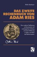 Das Zweite Rechenbuch Von Adam Ries