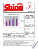 China Monthly Newsletter September 2010