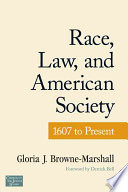 Race  Law  and American Society
