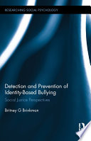 Detection and Prevention of Identity Based Bullying